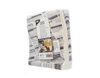 Taška papierová Newsprint 16x18cm 1ks
