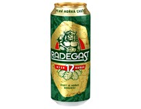 Radegast 12° pivo 24x500 ml PLECH