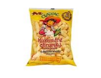 M-snacks Kukuričné chrumky nesolené 3x100 g