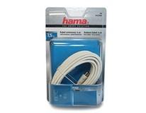 Kábel koaxiálny biely 7,5m 75dB HAMA 1ks