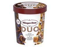Häagen-Dazs Duo čokoláda a slaný karamel zmrzlina mraz. 1x420 ml