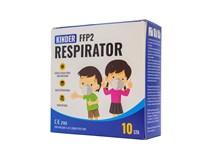 Respirátor detský FFP2 farebný 1x10 ks