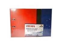Šanón/zakladač A4/8cm pákový mix SIGMA 5ks