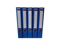 Šanón/zakladač A4/5cm pákový modrý SIGMA 5ks