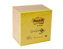Bločky Z 76x76mm mix farieb 3M Post-it 6ks