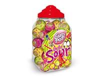 Gum Pop Lízanka extra kyslá so žuvačkou 100x18 g
