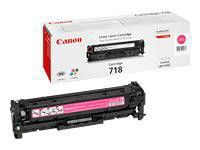 Toner 718 magenta 2900listov Canon 1ks