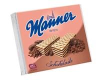Manner napolitánky chocolate 12x75 g