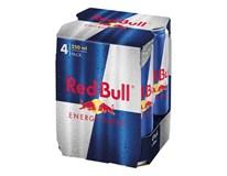 Red Bull energetický nápoj 4pack 4x250 ml PLECH