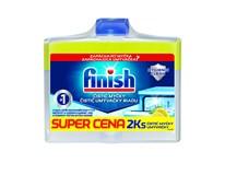 Finish Dishwasher Cleaner Lemon čistič umývačky riadu 2x250 ml