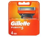 Gillette Fusion manual náhradné hlavice 1x4 ks