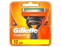 Gillette Fusion5 12 náhradných hlavíc 1ks