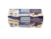 Elinas Jogurt gréckeho typu ostružina chlad. 4x150 g