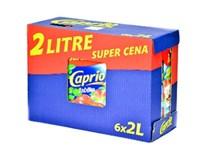Caprio nektár jablko 6x2 l