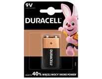 Batérie Basic 9V Duracell 1ks