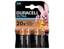 Batérie Ultra AA Duracell 4ks