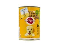 Pedigree Junior s kuracím mäsom konzerva 1x400 g