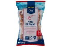 Metro Chef Krevety kind prawns blanšírované lúpané 16/20 mraz. 1x900 g