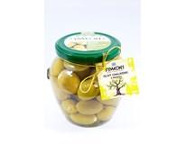 Symeon's Olivy zelené s mandľami 1x580 ml