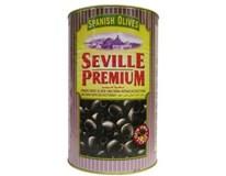Seville Premium Olivy čierne 1x4300 g