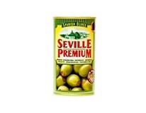 Seville Premium Olivy zelené s paprikou 1x350 g