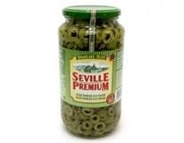 Seville Premium Olivy zelené krájané 1x935 g