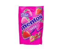 Mentos Bag Strawberry/ jahoda cukríky 1x140 g