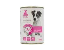 The Pet+ Dog Tin Puppy Thepet+ konzerva pre šteniatka 1x400 g