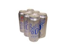 Zlatý Bažant 0,0% nealkoholické pivo extra horké 6x500 ml PLECH