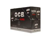 OCB Cigaretové papieriky Slim + Filter 32ks