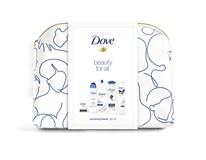 Dove Deeply Nourishing darč. sada (mydlo+deo sprej+sprch.gél+šamp.+tel.ml.) taška