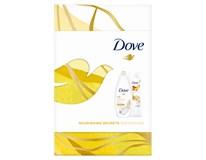 Dove Nourishing Silk darčeková sada (sprchový gél+telové mlieko)