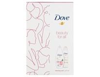 Dove Renewing darčeková sada (sprchový gél+deo sprej)