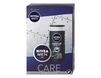 Nivea Men Care darčeková sada (sprchový gél+krém)