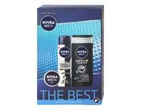 Nivea Men Original The Best darčeková sada (krém+deo sprej+sprch.gél)