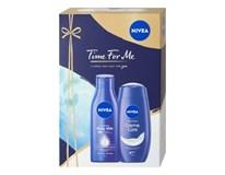 Nivea Time for Me darčeková sada (telové mlieko+sprchový krém)