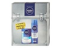 Nivea Men Protect & Care darčeková sada (voda po holení+pena na holenie)