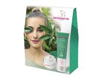 Dermacol Cannabis I. darčeková sada (krém+ maska)