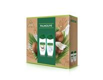 Palmolive Naturals Coconut & Milk darčeková sada (2x sprchový krém)