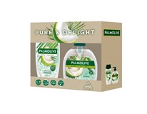 Palmolive Coconut darčeková sada (sprchový gél+mydlo)