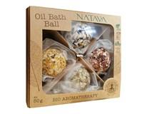 Natava Oil Bath Ball mix darčeková sada (olejové gule 4x50 g)
