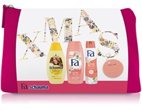 Fa a Schauma Pink darčeková sada (šampón+sprch.gél+deo sprej) taška