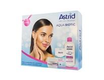 Astrid Aqua Biotic darčeková sada (denný+nočný krém+micelárna voda)