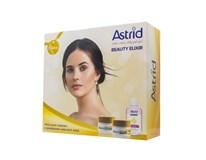 Astrid Beauty Elixir darčeková sada (denný+nočný krém+odličovač očí)