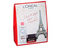 L'Oréal Revitalift Laser darčeková sada (micelárna voda+denný krém)