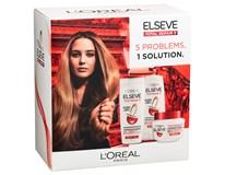 L'Oréal Elseve Total Repair 5 darčeková sada (šampón+balzam+maska)