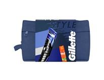 Gillette Fusion darčeková sada (styler+gél na holenie) taška