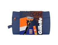 Gillette Precise Fusion 5 darčeková sada (žiletka+ 4 náhr.hlavica+gél na hol.) taška