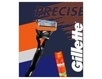 Gillette Precise Fusion 5 darčeková sada (žiletka+ 1 náhr.hlavica+gél na hol.)