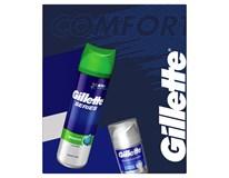Gillette Series Comfort darčeková sada (gél + balzam na holenie)